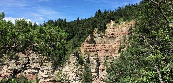 Geoparc Bletterbach per un'avventura nel canyon delle Dolomiti