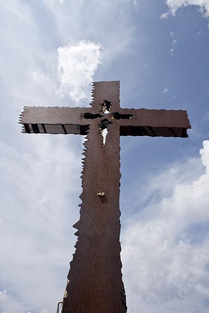 la croce del trekking del cristo pensante