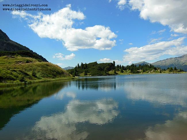 escursione laghi colbricon