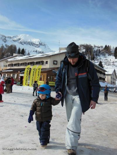 sciare bambini