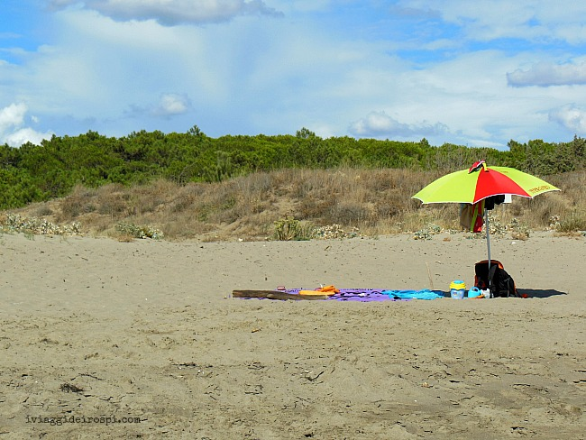 spiaggia libera maremma