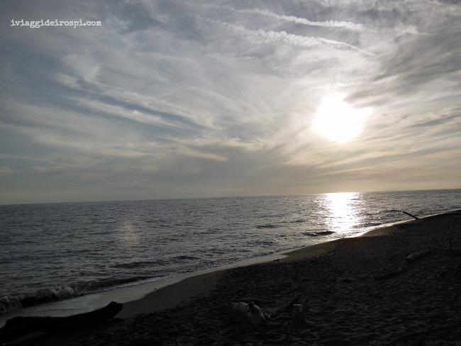 tramonto parco maremma