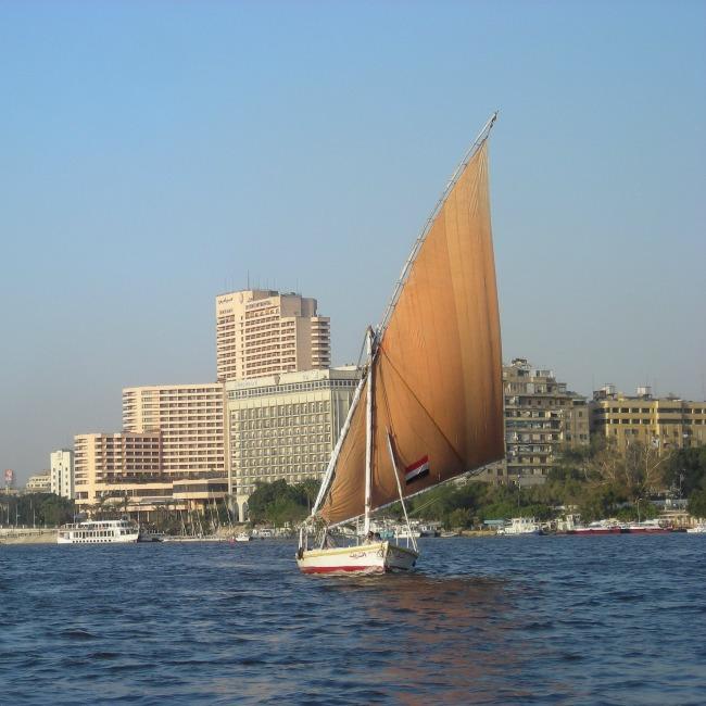 Cairo feluca