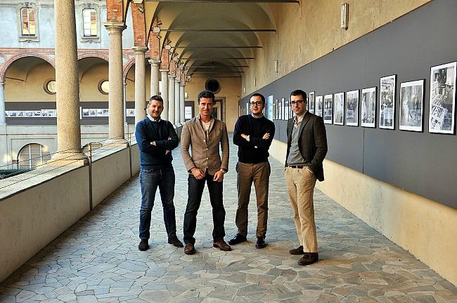 Foto team Musement da sx Zecchini Petazzi Bellinzona Giulini