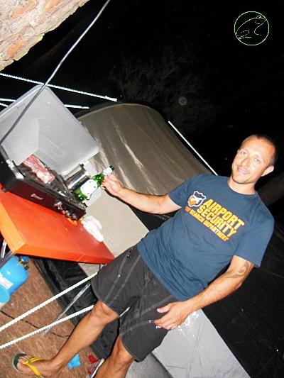grill in campeggio