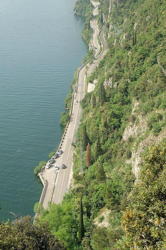tremosine vista lago