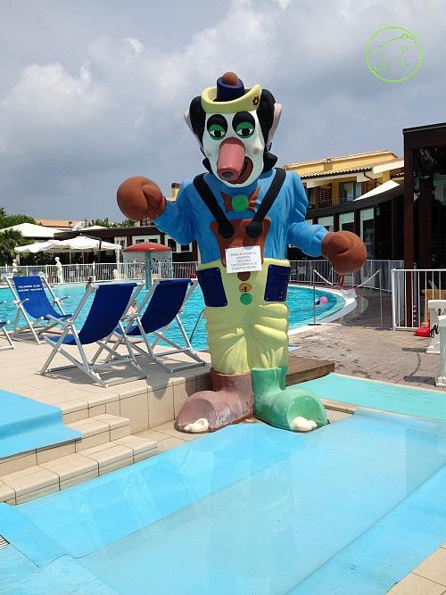 pagliaccio piscina
