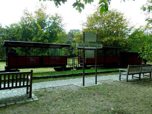 stazione per il trenino - britzer garten