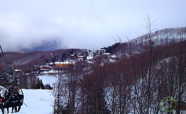 sciare a cerreto alpi