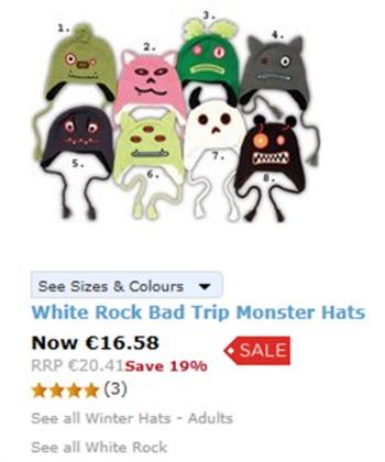 cappellini mostri adulti