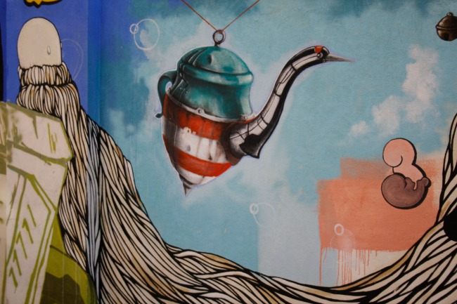 street art tour milano