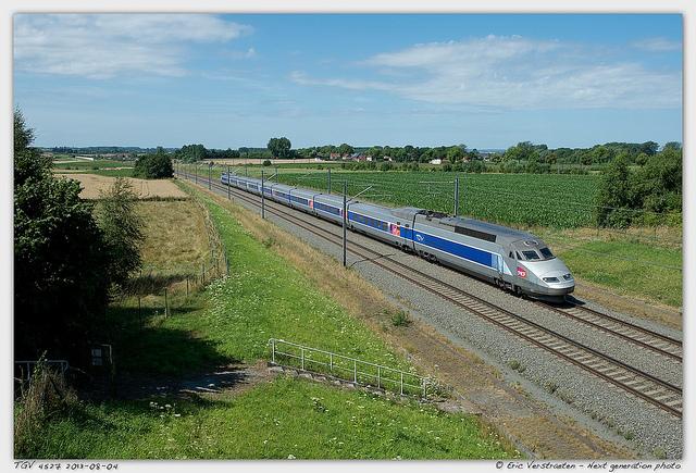 Francia in treno