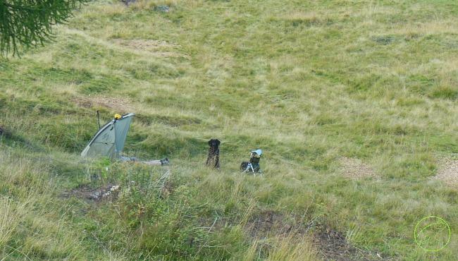 escursioni trekking con tenda bivacco