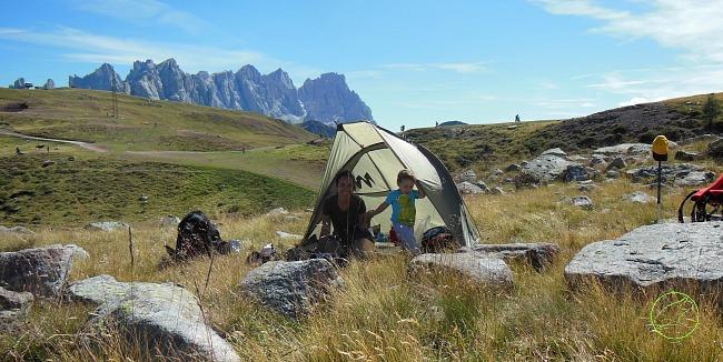 tenda bivacco in montagna