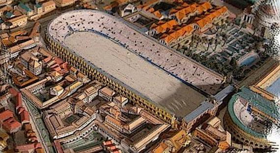 Ricostruzione a computer dello Stadio - Photo Credits ilgiornale dell'arte.com
