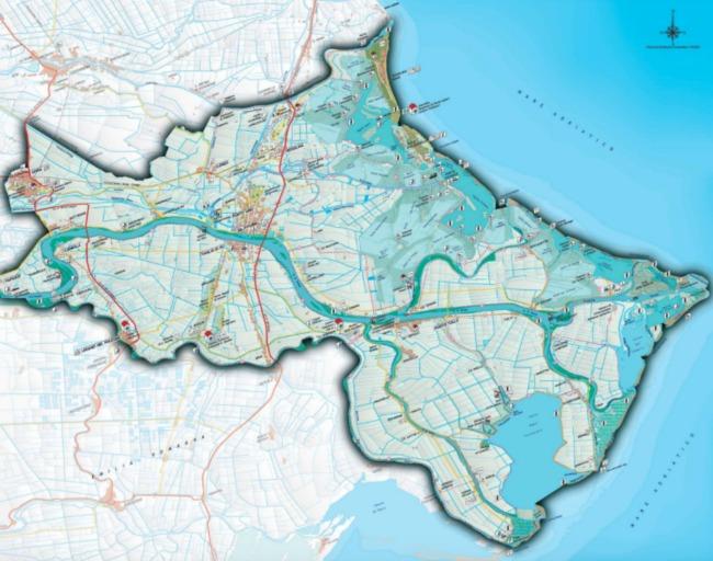mappa delta po