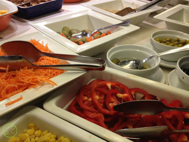 buffet hotel acacias lloret de mare