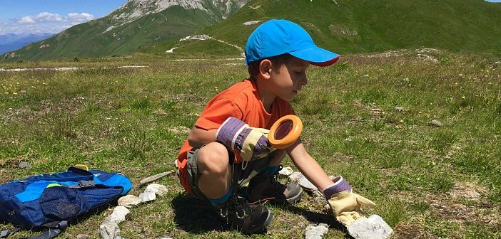 bambini in montagna come fare la valigia