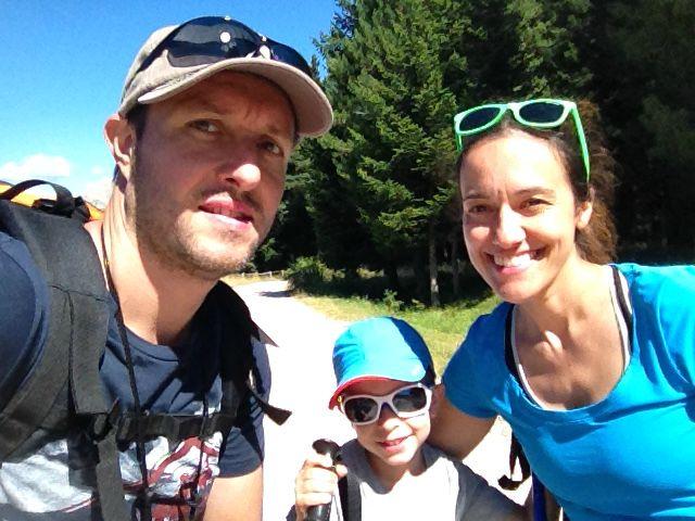 in montagna con bambini