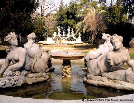 fontana di villa sciarra