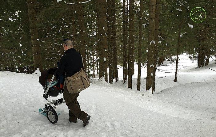 dove andare con i neonati in montagna