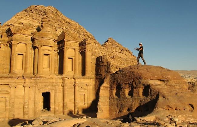 Trekking a Petra, Giordania