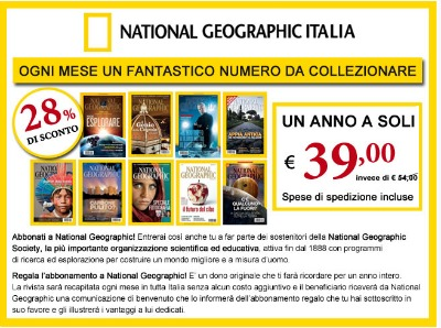 abbonamento a national geographic