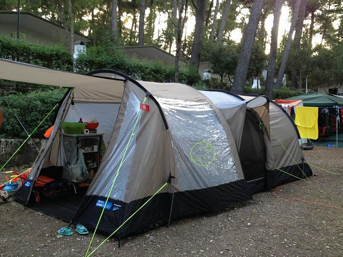 cibi campeggio come organizzare spazi