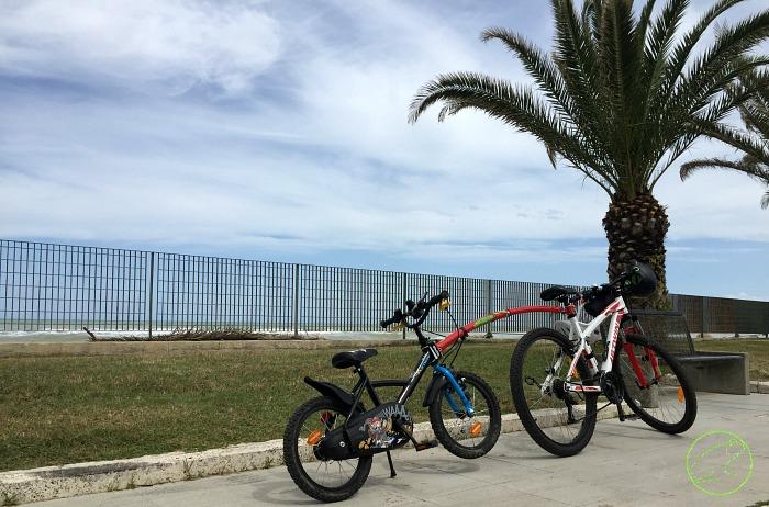 in bicicletta in Abruzzo