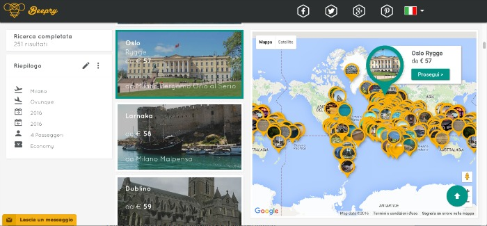 organizzare giro del mondo con beepry