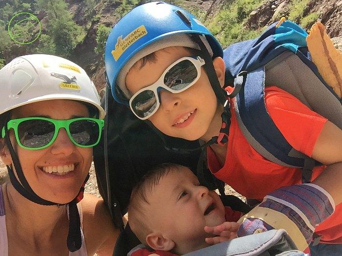 alla scoperta del canyon con bambini