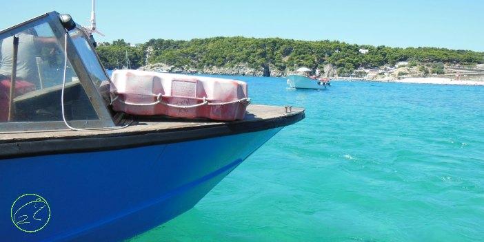 arrivare in barca alle isole tremiti