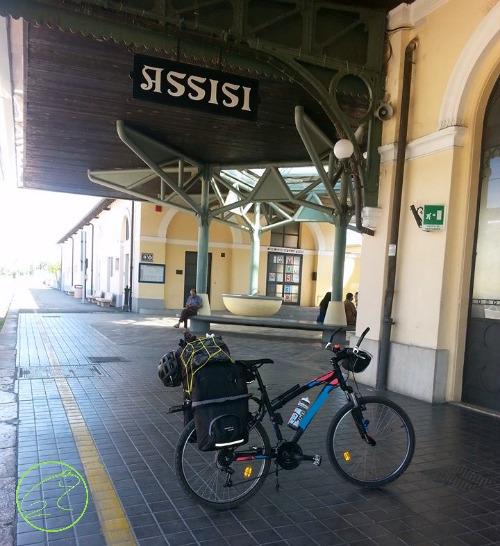 viaggio in bici in treno