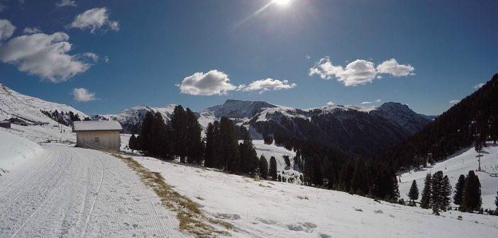 Trekking invernale da Pampeago a Malga Epircher Laner