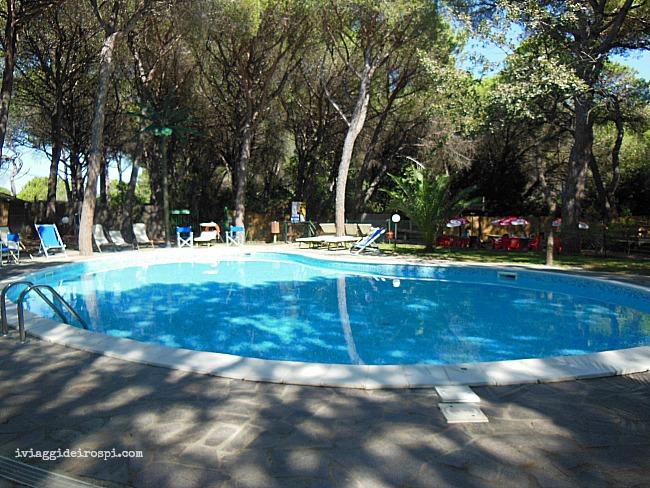 piscina del camping il sole marina di grosseto