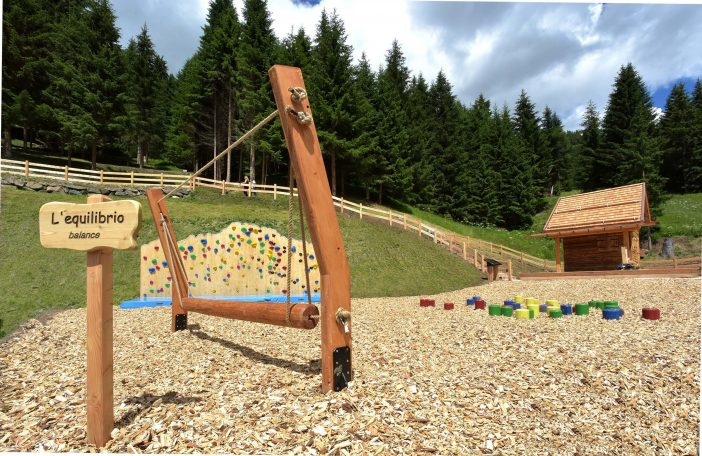 Divertitevi al parco giochi in quota Ally Farm