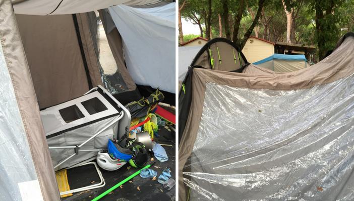 Genitori da soli in campeggio con bambini consigli viaggi dei rospi