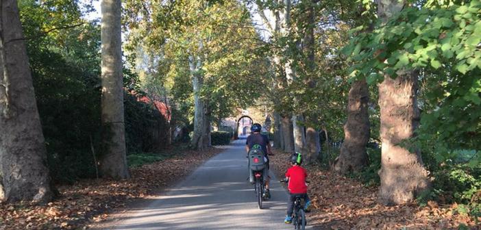Itinerario da Milano all'Idroscalo in bicicletta