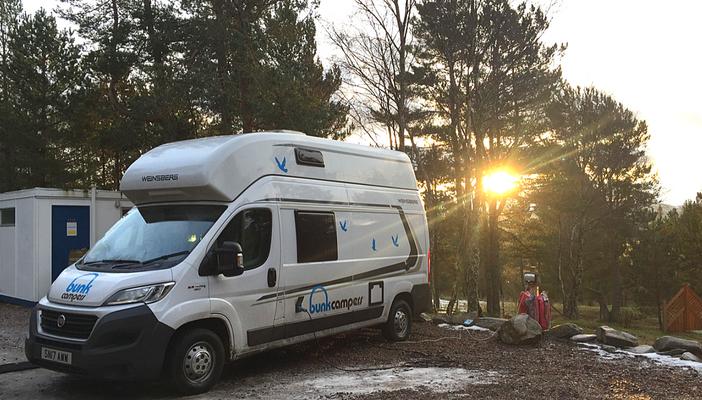 Viaggio in scozia in camper con bambini