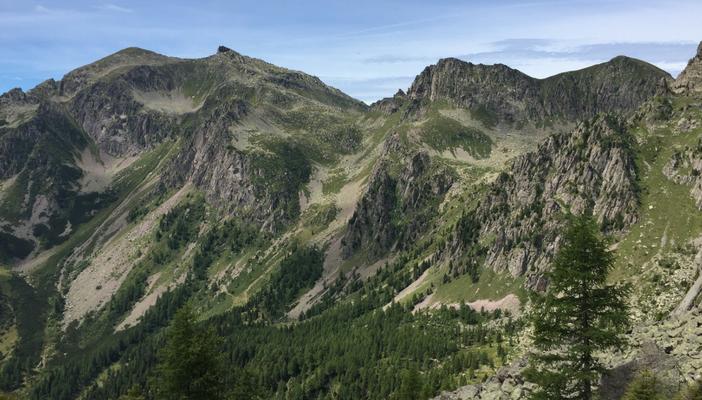 La vista sulla Valle del Vanoi