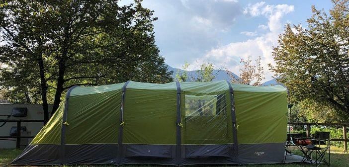 Tenda Vango AirBeam Capri 400XL: il top per le vacanze in campeggio in famiglia