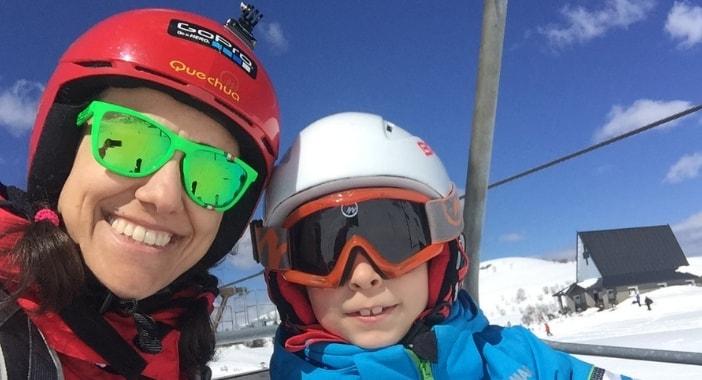 come si misura il casco da sci bambino