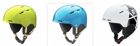 casco da sci per bambino half shell