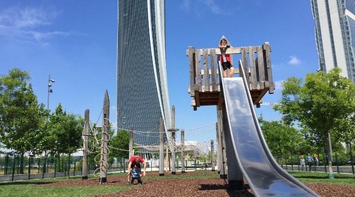 parco giochi city life milano