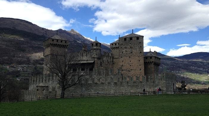 i castelli della Valle d'Aosta tra le cose da vedere
