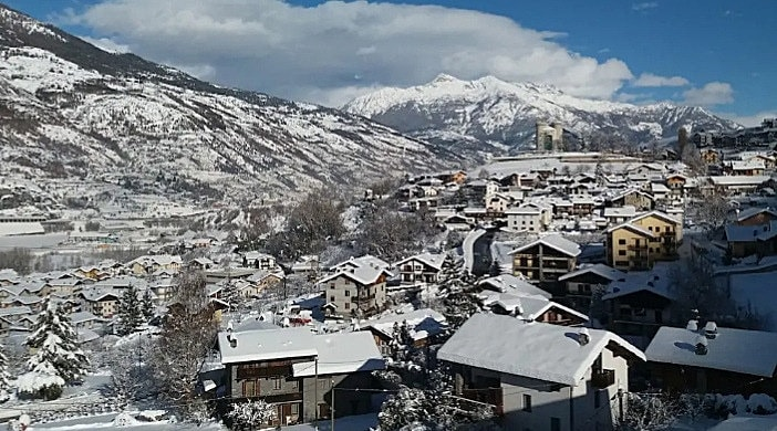 valle d'aosta in inverno