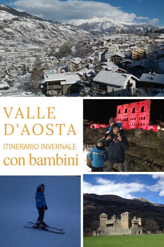 valle d'aosta in inverno itinerario