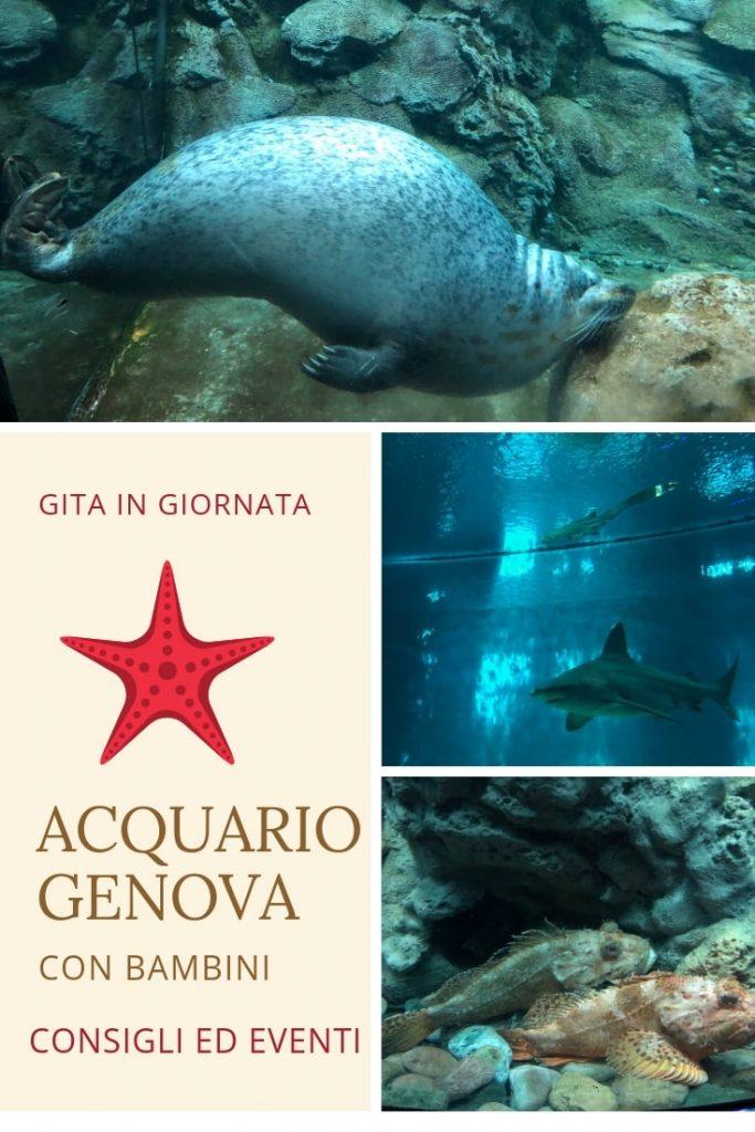 gite per famiglie acquario di Genova