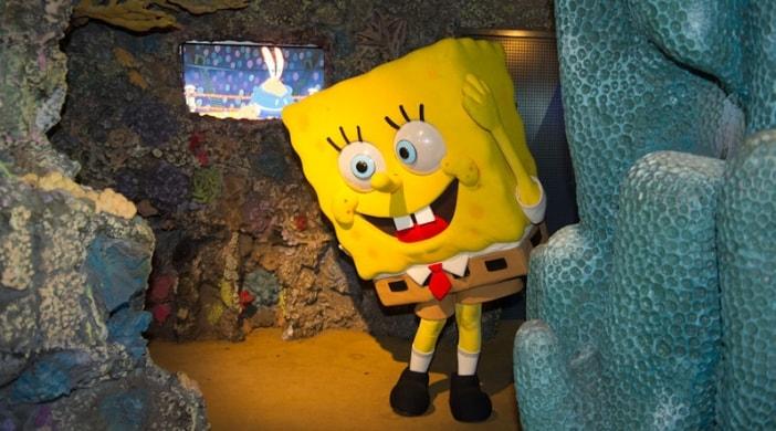 spongebob all'acquario di genova