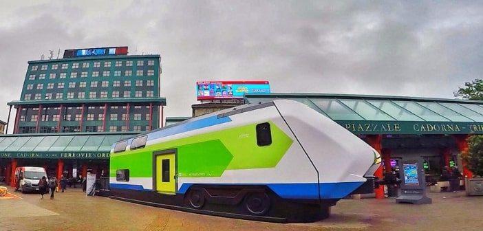 Caravaggio, l'innovazione per viaggiare in Lombardia in treno
